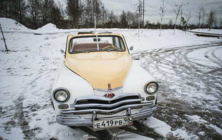 ГАЗ-М-20 Победа кабриолет